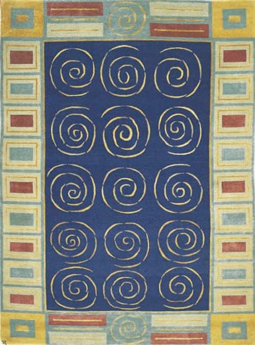 Knossos, blue