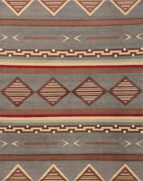 LW52B, grey/brown/red