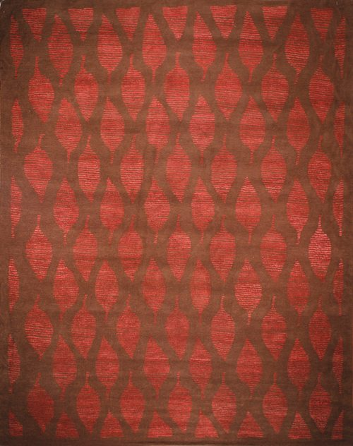 Rima, brown/red