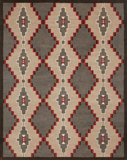 LW75A, grey/cream/red