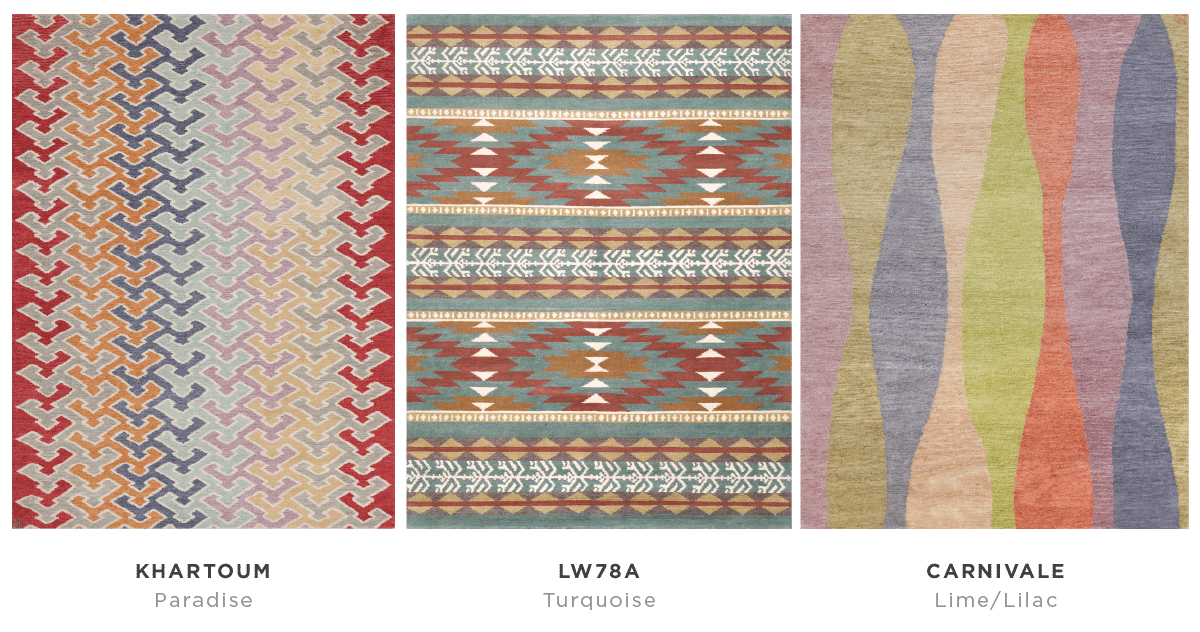 New Moon | Return To Color Rugs 1