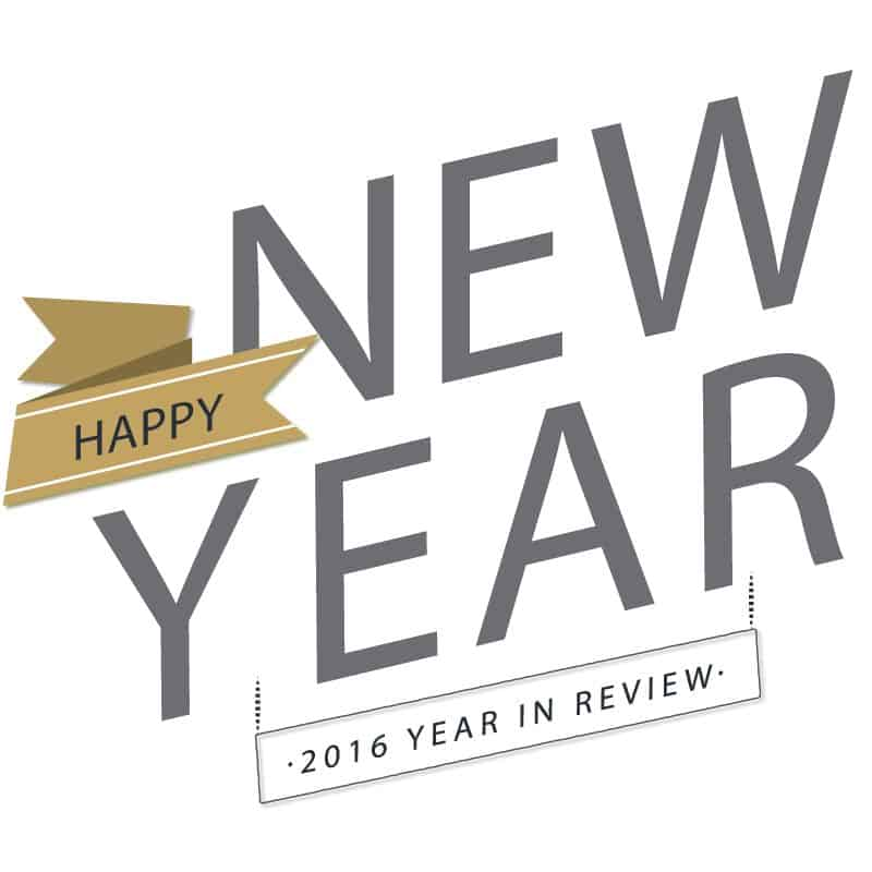 Happy New Year! — 2016 Year In Review