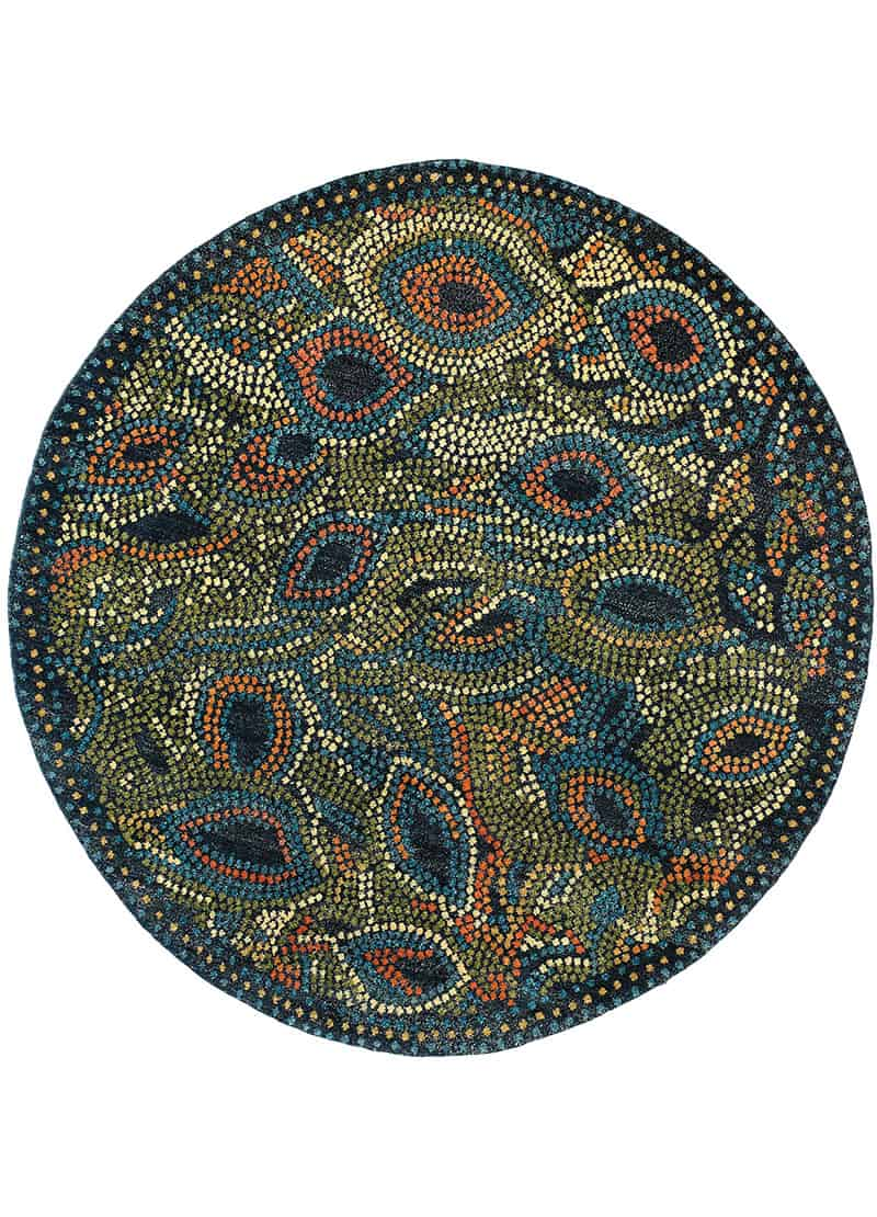 peacock | new moon rugs